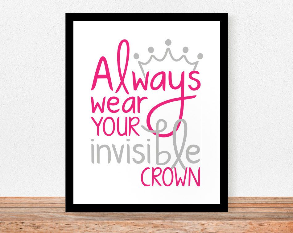 Always Wear Your Invisible Crown Alpha Sigma Alpha Alpha Sigma Alpha Crafts Alpha Sigma Alpha Sorority
