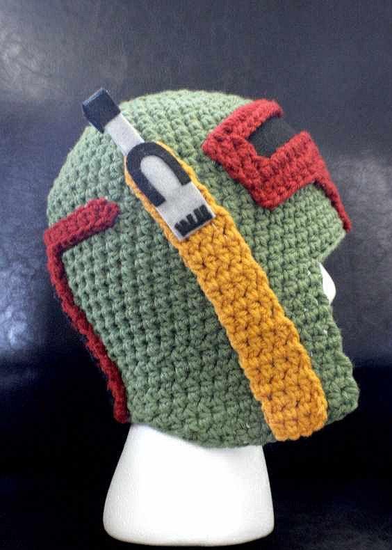 Star Wars Boba Fett Mütze Gadgets Knitting Boba Fett Und Crochet