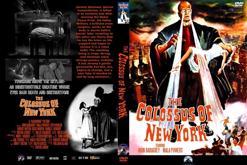 A review of the colossus of new york a movie by eugene lourie