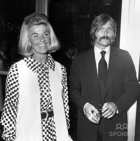 Doris Day with son Terry Melcher, 1971. Terry was a very successful music producer in the 60's (including The Byrds and others). Terry helped produce ...