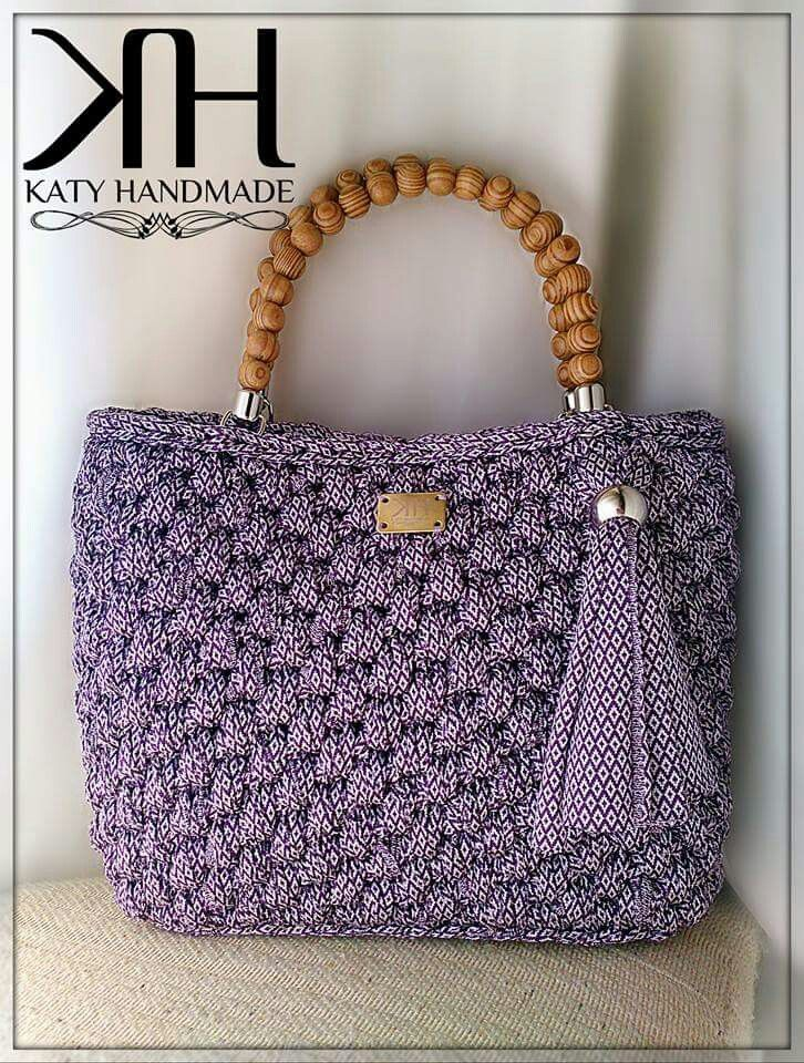 Pin by My Info on CrochetBags | Pinterest | Crocheted bags, Crochet ...