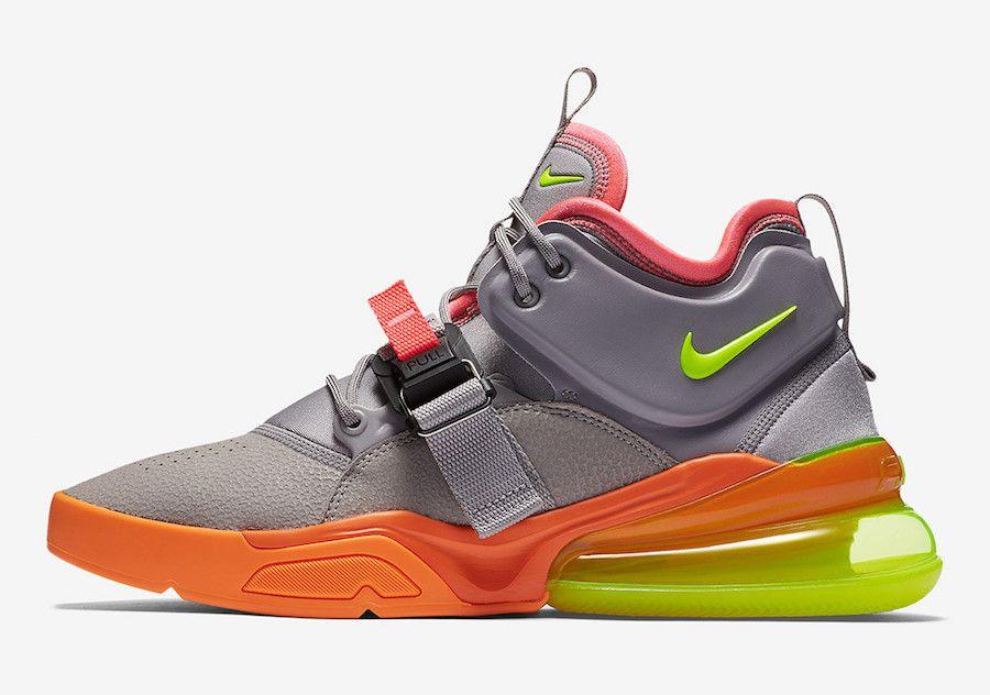 new product 106ce 7847e Nike Air Force 270 Sherbert AH6772-007