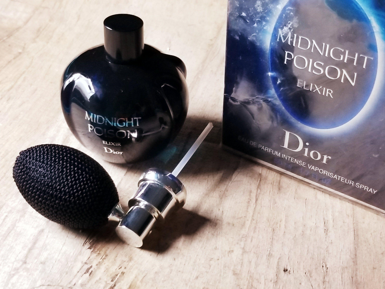 Midnight Poison Elixir Christian Dior Edp Spray 50 Ml 17 Oz