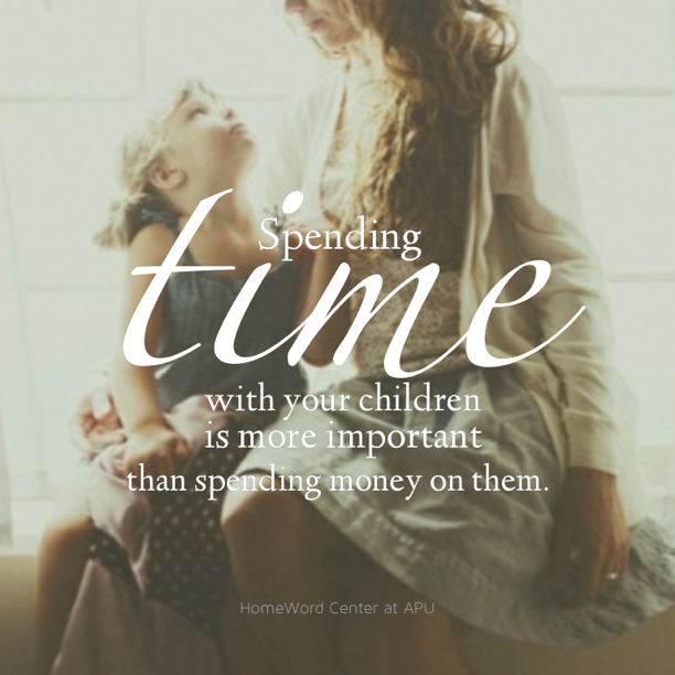 Investing Time Into Your Children Truly Is The Greatest Gift Of All.  #christian #. Family MattersFamily QuotesParenting ...