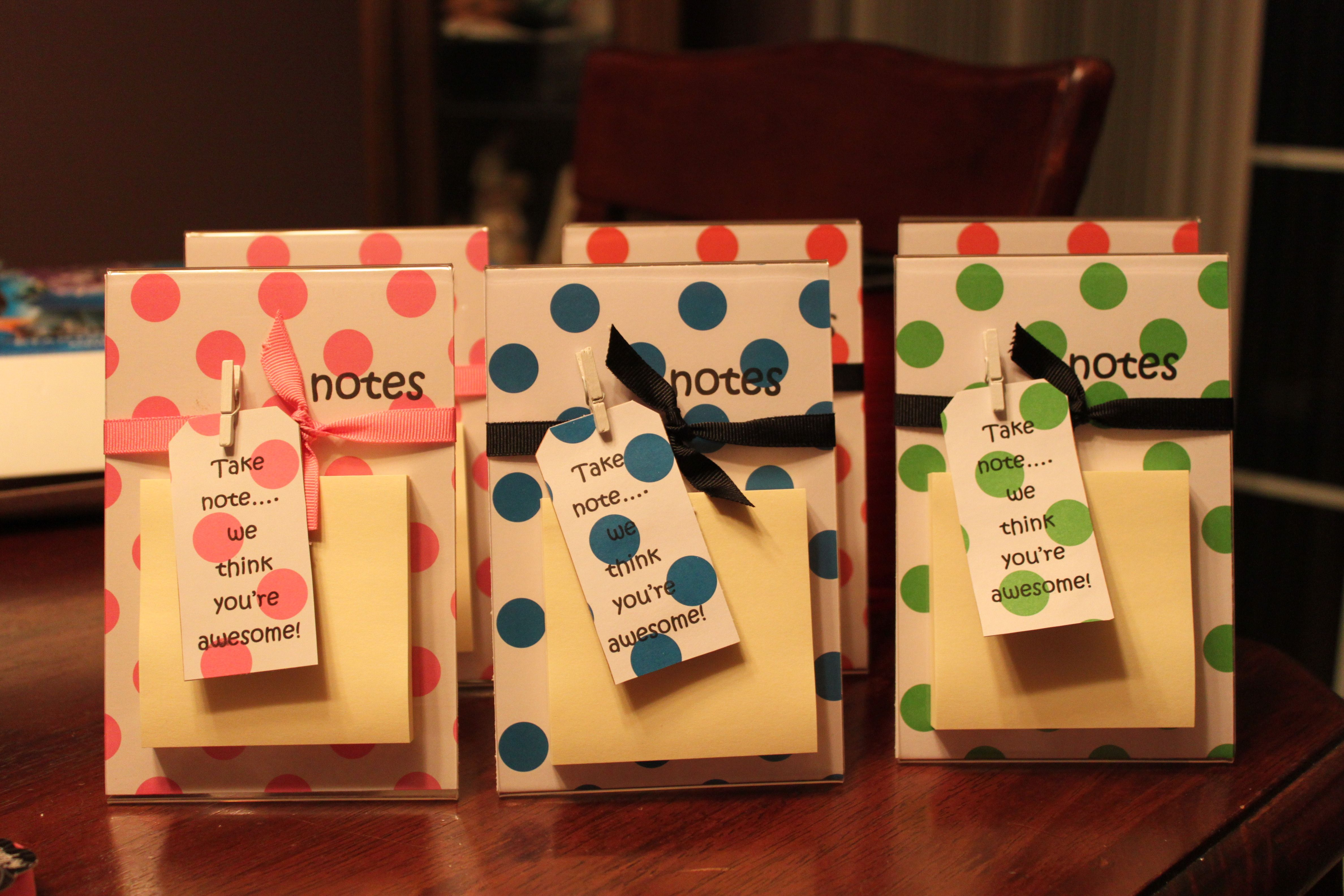 The Gifts I Made For Nurse S Week For The Fantastic Ladies I Work