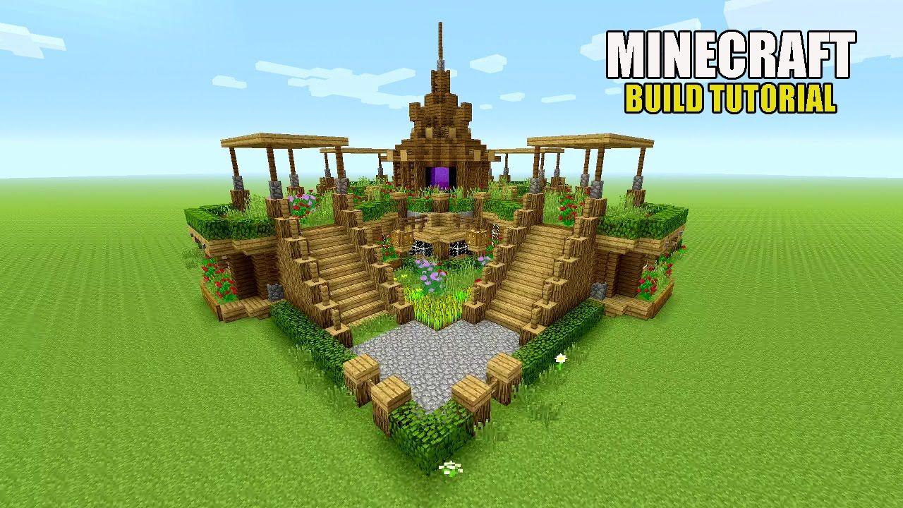 Minecraft garden, Minecraft garden ideas, Minecraft farm