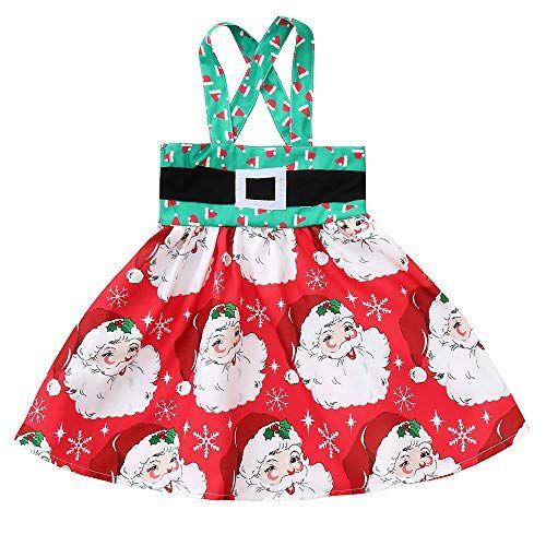 e927a7a357a POLP Niño Regalo Navidad Bebe Pijama Rojo Navidad Bebe Disfraz Ropa  Invierno Bebe niña Unisex Manga