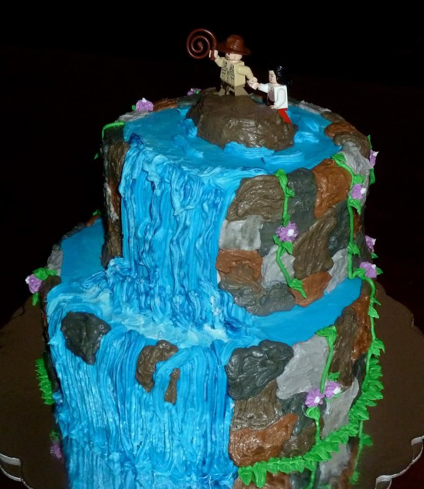 Indiana Jones Going Back to College Cake