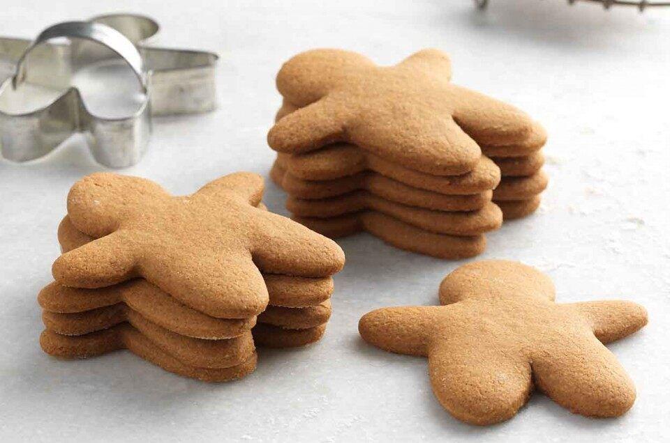 Gluten-Free Gingerbread Cookies #gingerbreadcookies