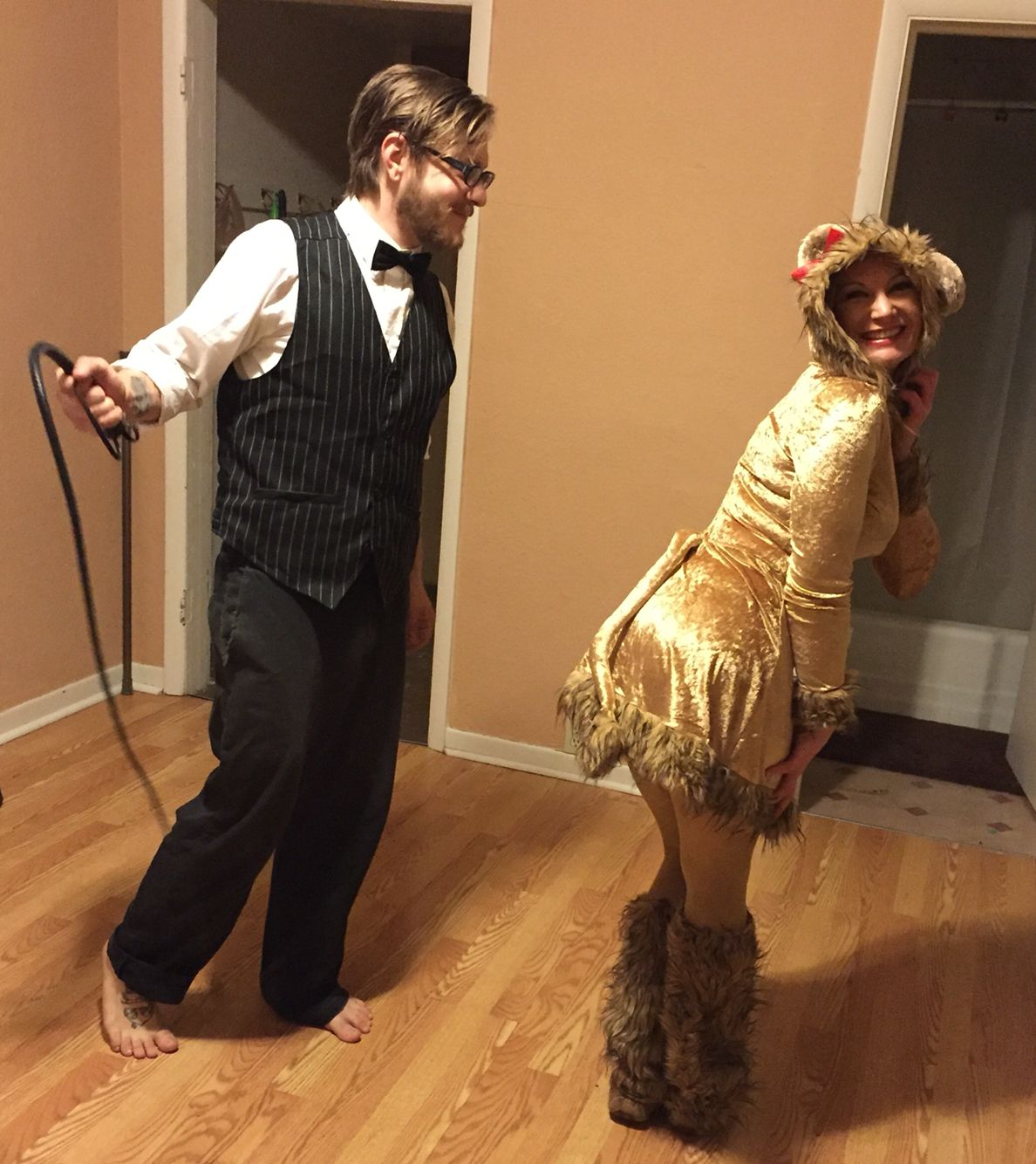 Couples Halloween Costumes Lion