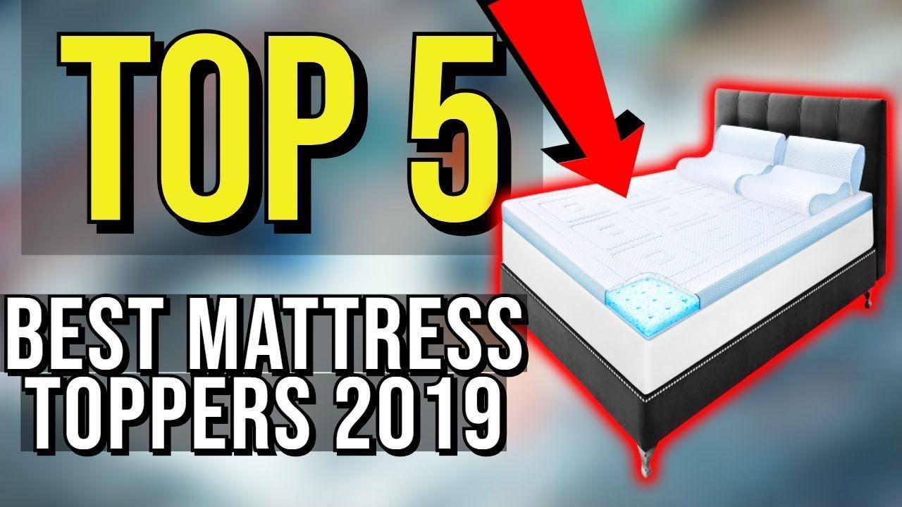 Top 5 Best Mattress Topper 2019 In 2020 Mattress Topper Best Mattress Firm Mattress Topper