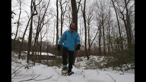 Winter Workouts: Snow shoeing - NY Fahnestock Winter Park (1 hour outside of NY)