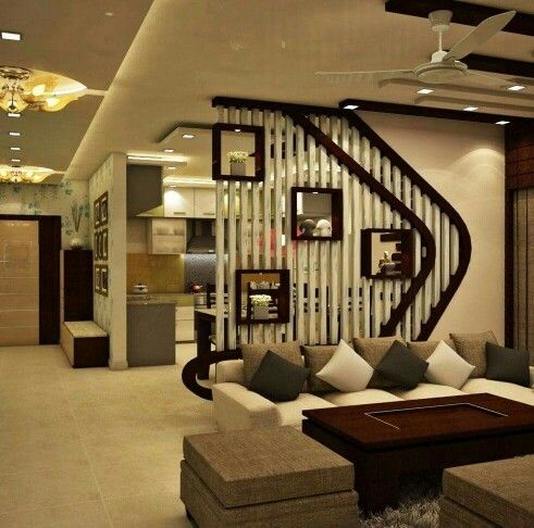 Partition wall interior india pinterest walls for Drawing hall wall designs