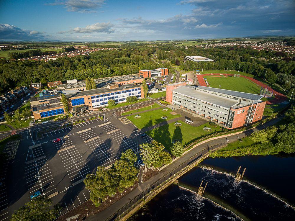 Ayrshire College #whywefly #djiinspire1 #aerialpixls