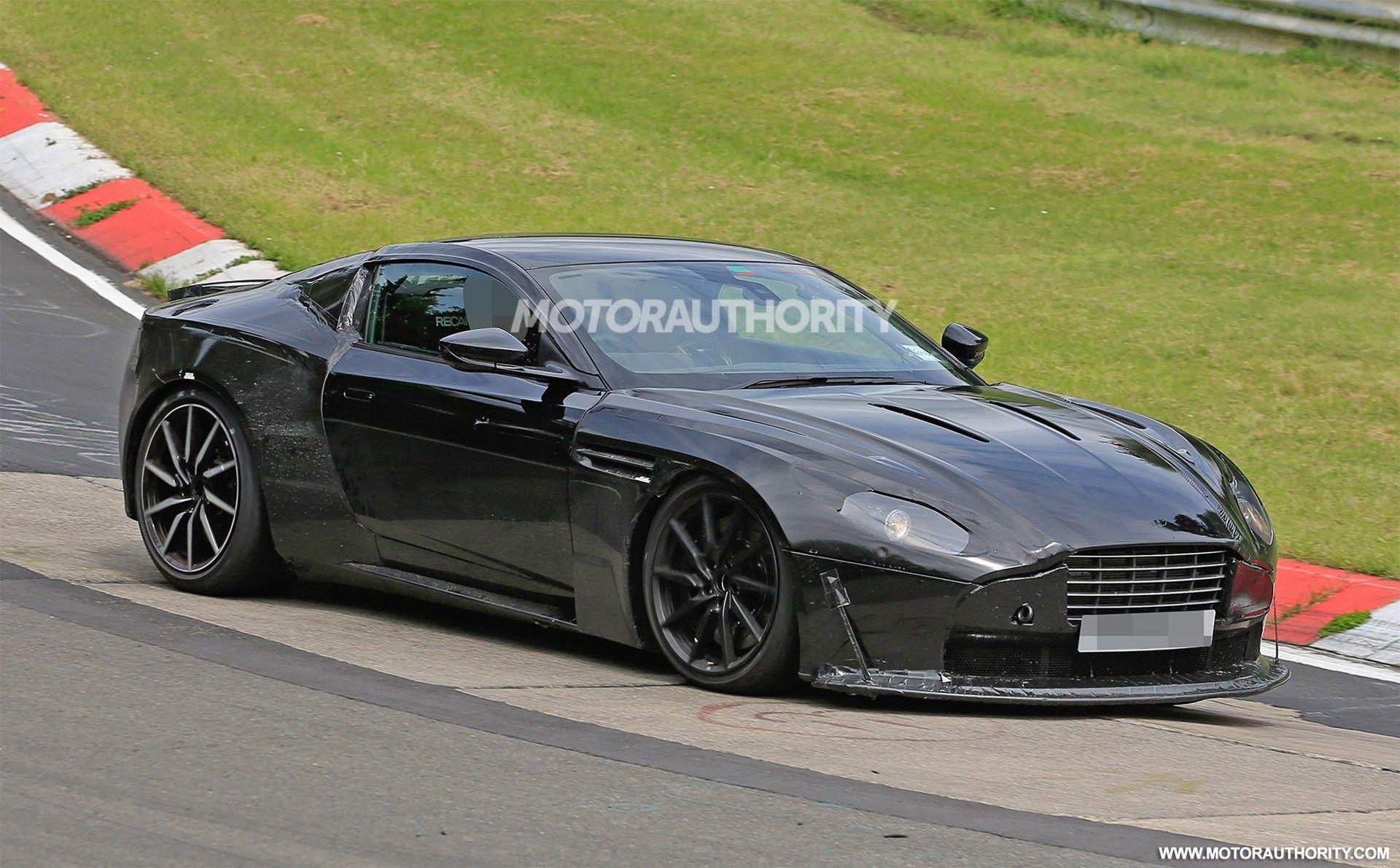 Aston Martin Vantage GT Review Price Horsepower - Aston martin vantage gt 2018