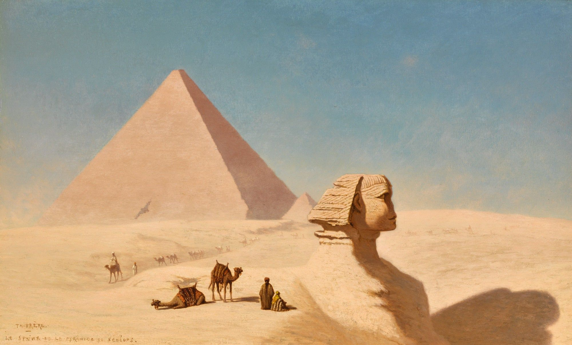 Charles Theodore Frere The Sphinx The Orientalist Sale Sotheby S In 2020 Cheops Pyramid Sphinx Giza