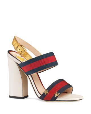 31c682c42d2 GUCCI Aline Block Heel Sandals.  gucci  shoes  sandals