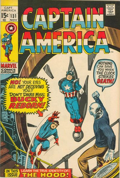 The summer of the winter soldier! That's not Rick Jones in Bucky's raiment - that's the actual Bucky Barnes (but is it a dream, a hoax, or is Stan Lee pulling something worse than my leg?).