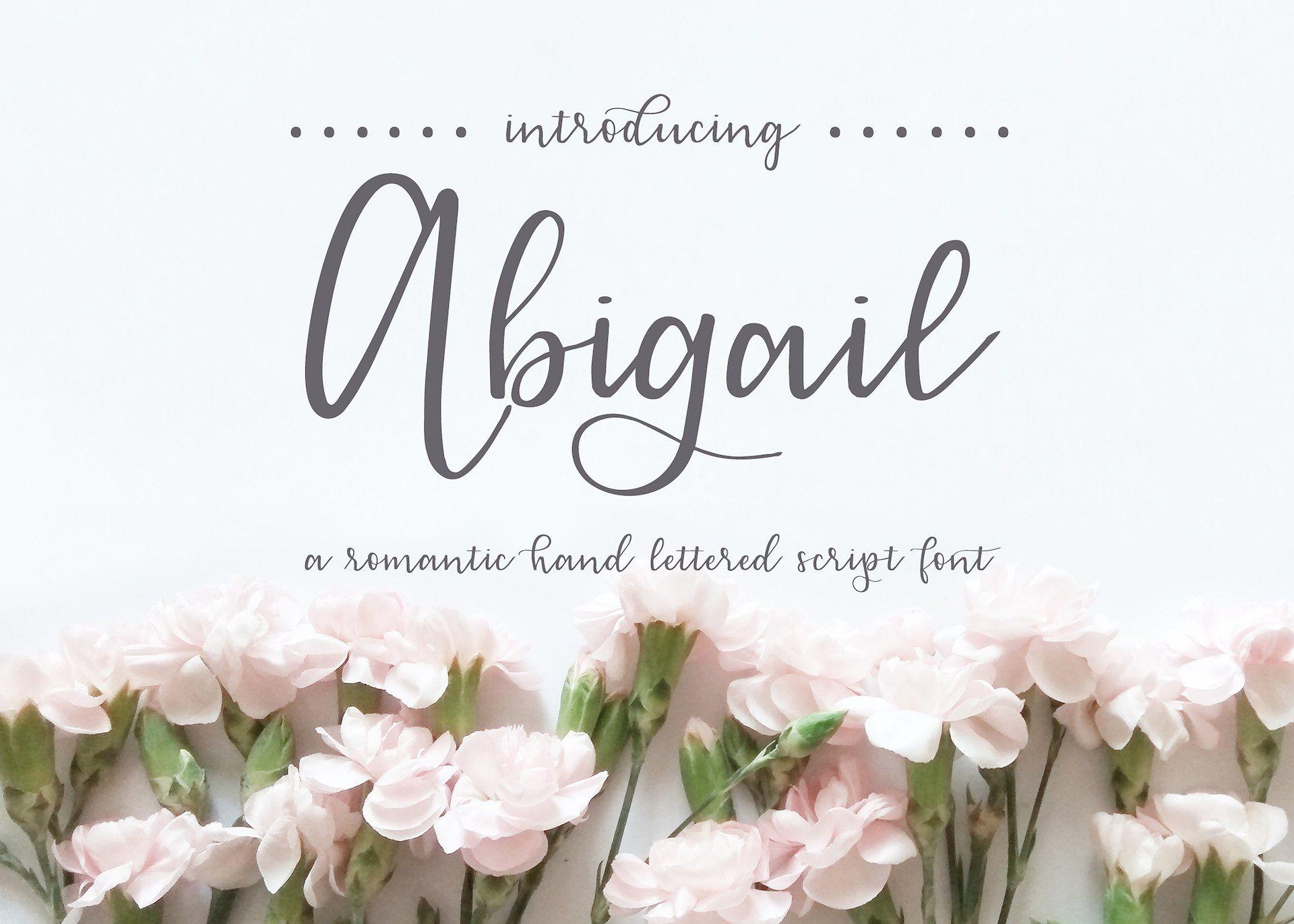 Abigail In Cursive