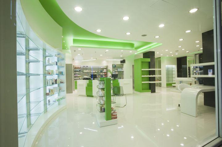 Pharmacy by Farmatechnika, Athens – Greece #farmácia #pharmacy #varejo #retail #greece #grécia