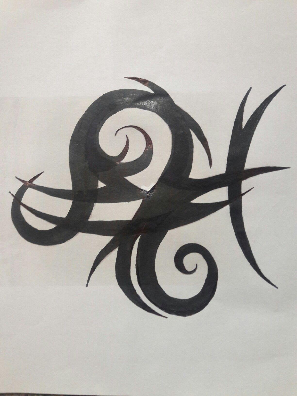 Leo Libra Tattoo : libra, tattoo, Libra, Tribal, Tattoo, Design, Tattoo,, Designs,, Tattoos