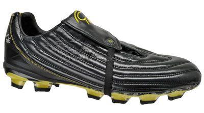 492e2728e New PELE Sports 1962 FG MS Mens Leather Soccer Cleats - Black   Yellow