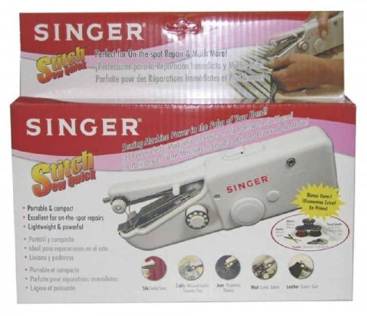 Singer Stitch Sew Quick Hand Held Sewing Machine New Hand Gorgeous Singer Handheld Sewing Machine