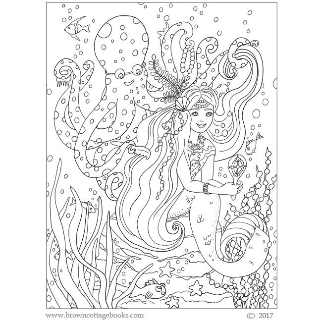 A coloring page from the Cute & Crazy Critters Coloring