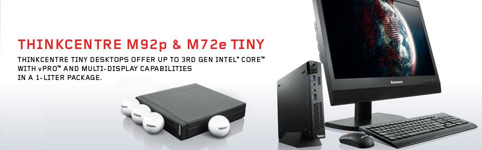 100 test units, 10 torture tests, 10,000 hours of testing. #Lenovo ThinkCentre Tiny desktops are built tough