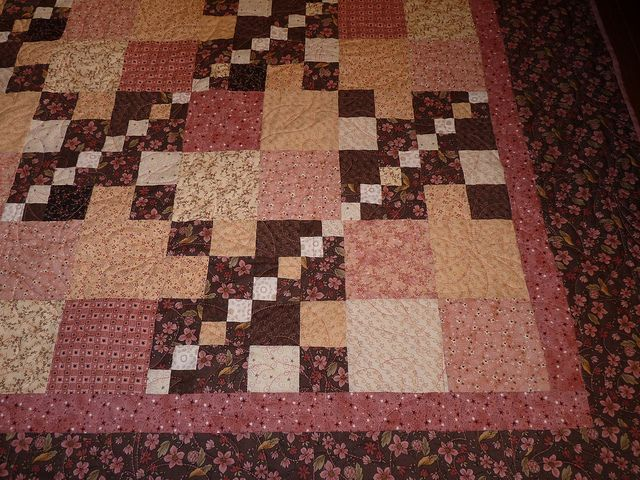 Triple four-patch by hayabusagirl, via Flickr