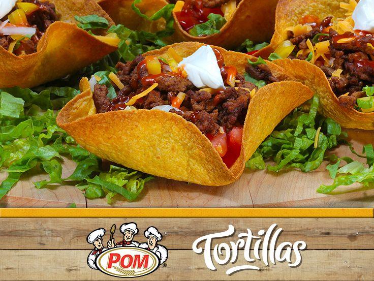 Soyez cr�atif et pr�parez une salade de taco dans des tortillas en forme de bol pour vous et votre famille! @Dempster's® Bakery #WrapItUp