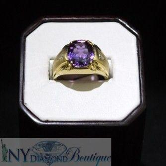 Men's Mystic Topaz Ring