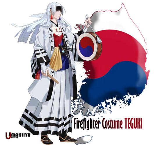 karakter anime negara peserta olimpiade 2020 Pemadam