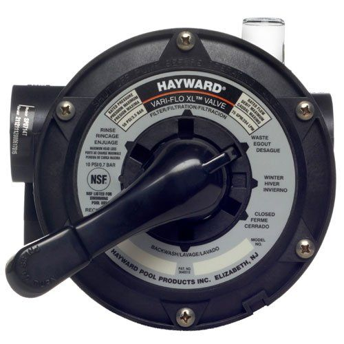 Hayward Pro Series Vari-Flo Top-Mount Control Valve, Black Review
