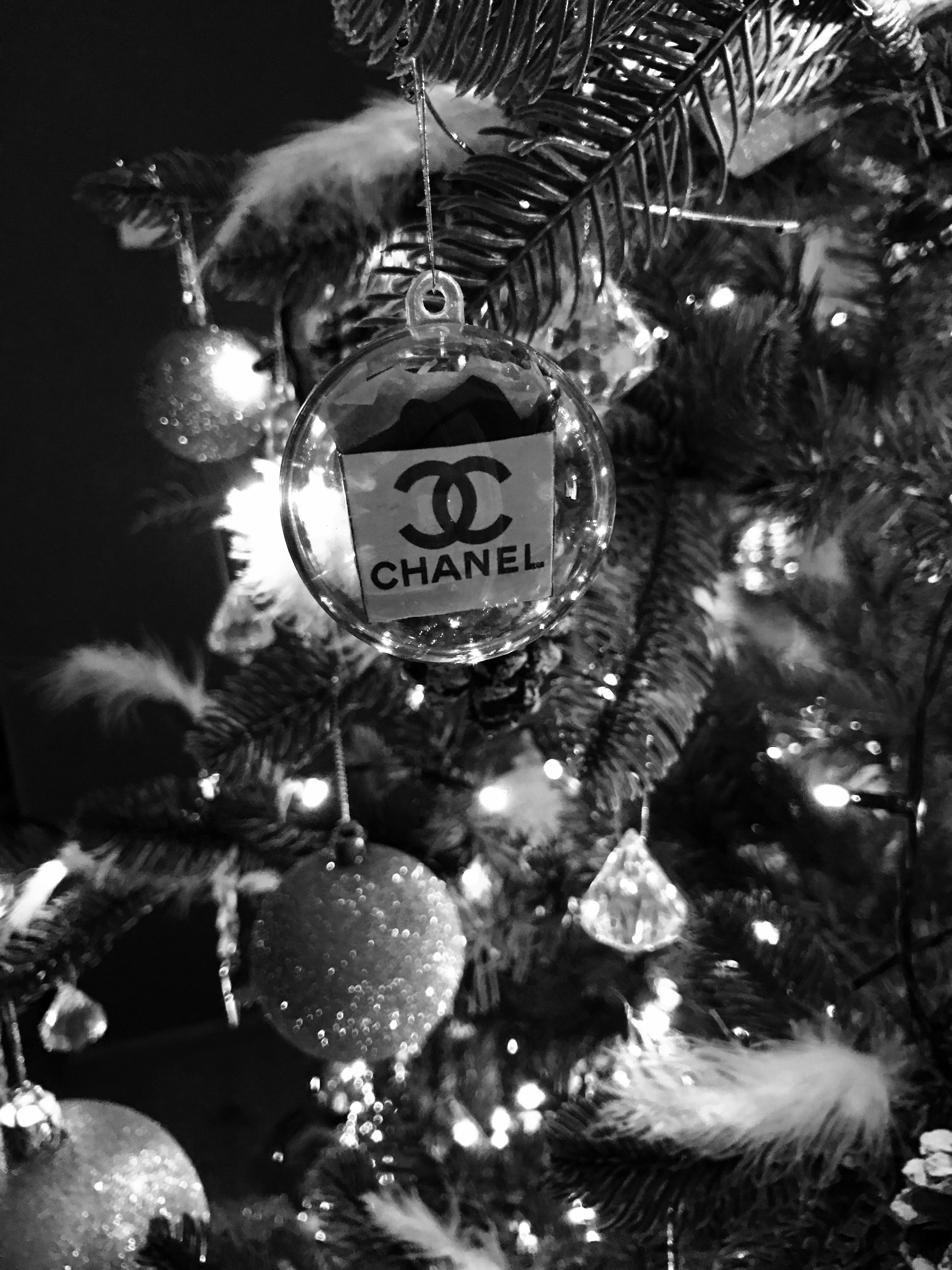 Chanel christmas bauble got this on my tree this year christmas