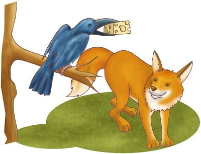 El Zorro Y El Cuervo Cuentos Para Niños Libros Cuentos Y