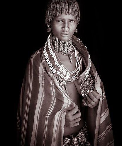 Beautiful Tribal African Women