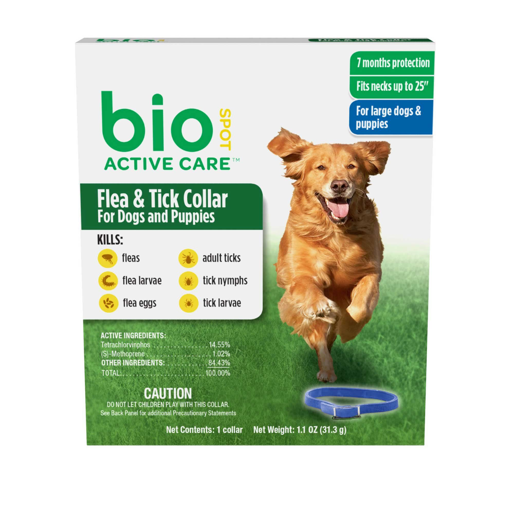 Bio Spot Active Care Flea Tick Dog Collar For Large Dogs Puppies In 2019 Products Ticks On Dogs Dogs Puppies Flea Tick