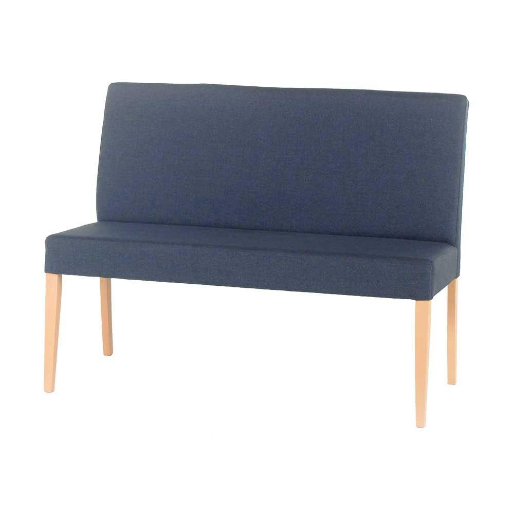 Esszimmer Sofa Setterson In Blau 120 Cm Esszimmer Sofa