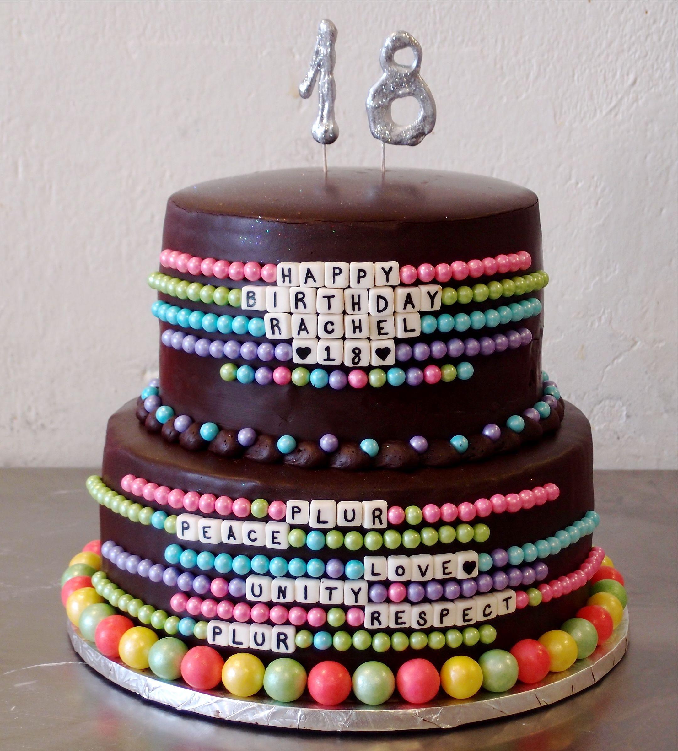 Rachel's Awesome 18th Birthday Bracelet Cake From Splurge