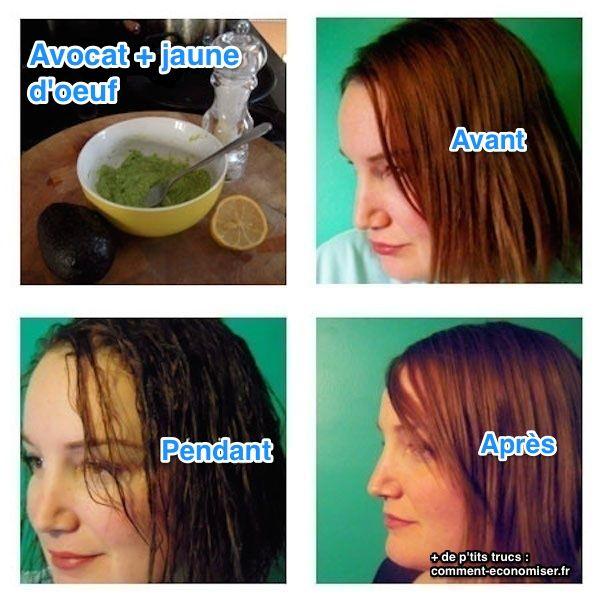 Masque naturel pour changer la couleur des cheveux