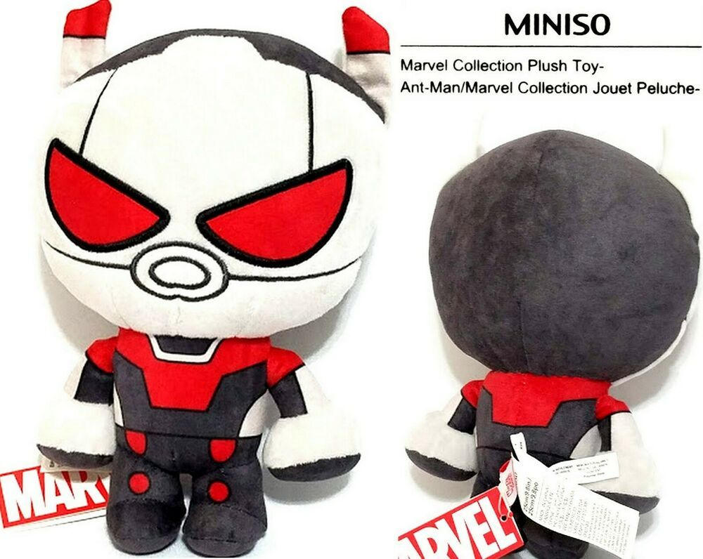 Miniso Marvel Avengers Ant Man 9 8 Inch Plush Toy Collection Rare Marvelbyminiso Ant Man Toys Ant Man Toy Collection
