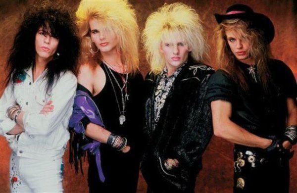 Popular metal hair bands of the 17s and 17s that refuse to let it ...