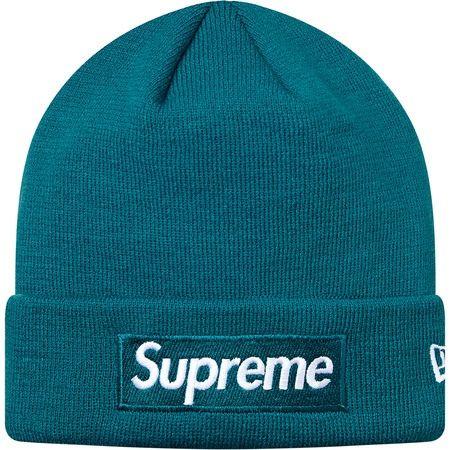 beba53ae8c268 Supreme 슈프림  Supreme  Supreme X New Era® Box Logo Beanie Teal