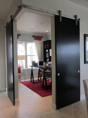 Retractable Interior Wall By Fertility Design Apartment Design Wall Partition Design Living Room Kitchen Partition