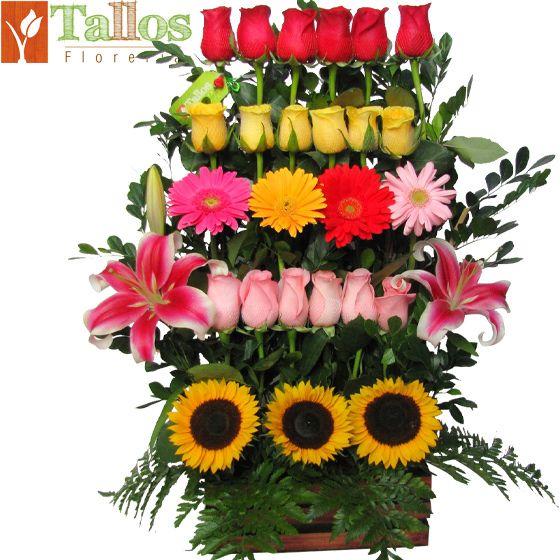 arreglo florale rosas rojas arreglos florales florerias en lima peru flores en lima