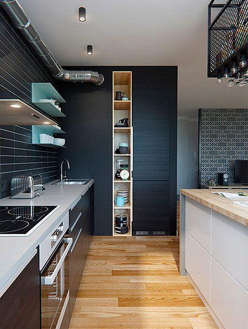 Integrar sal n comedor y cocina en el mismo espacio p a - Salon comedor cocina mismo espacio ...