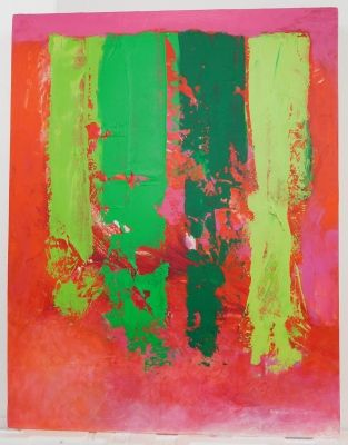 True Colour (acrylic on board 59 x 75cm) £550  Plus delivery  by Stella Hidden