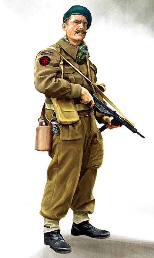 British commando by ~anderpeich | The Art of War | British