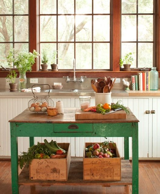 Country Cottage Kitchen Small Cottage Interior Design Pinterest